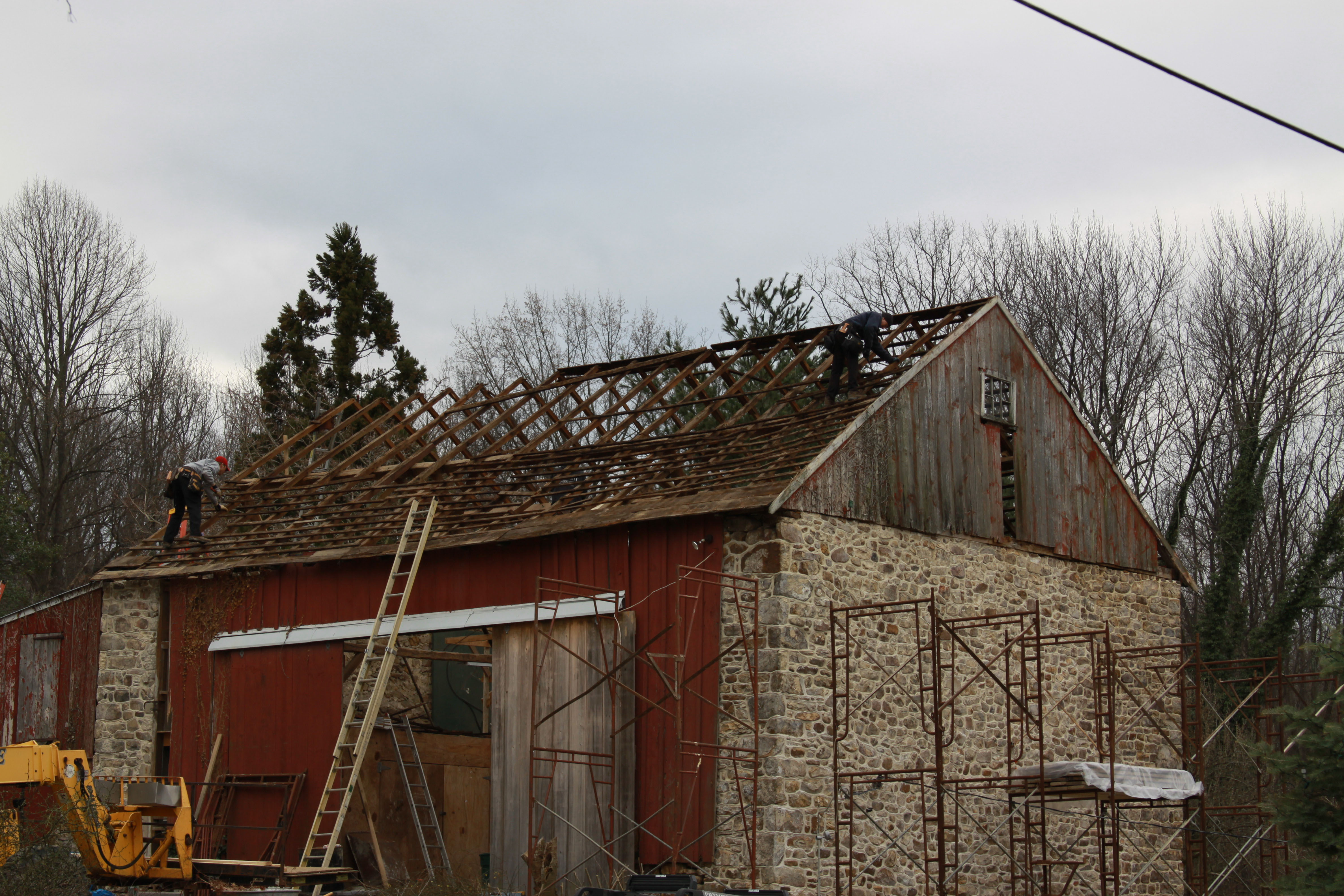 Country Barn Restoration Reed S Woods Inc Custom