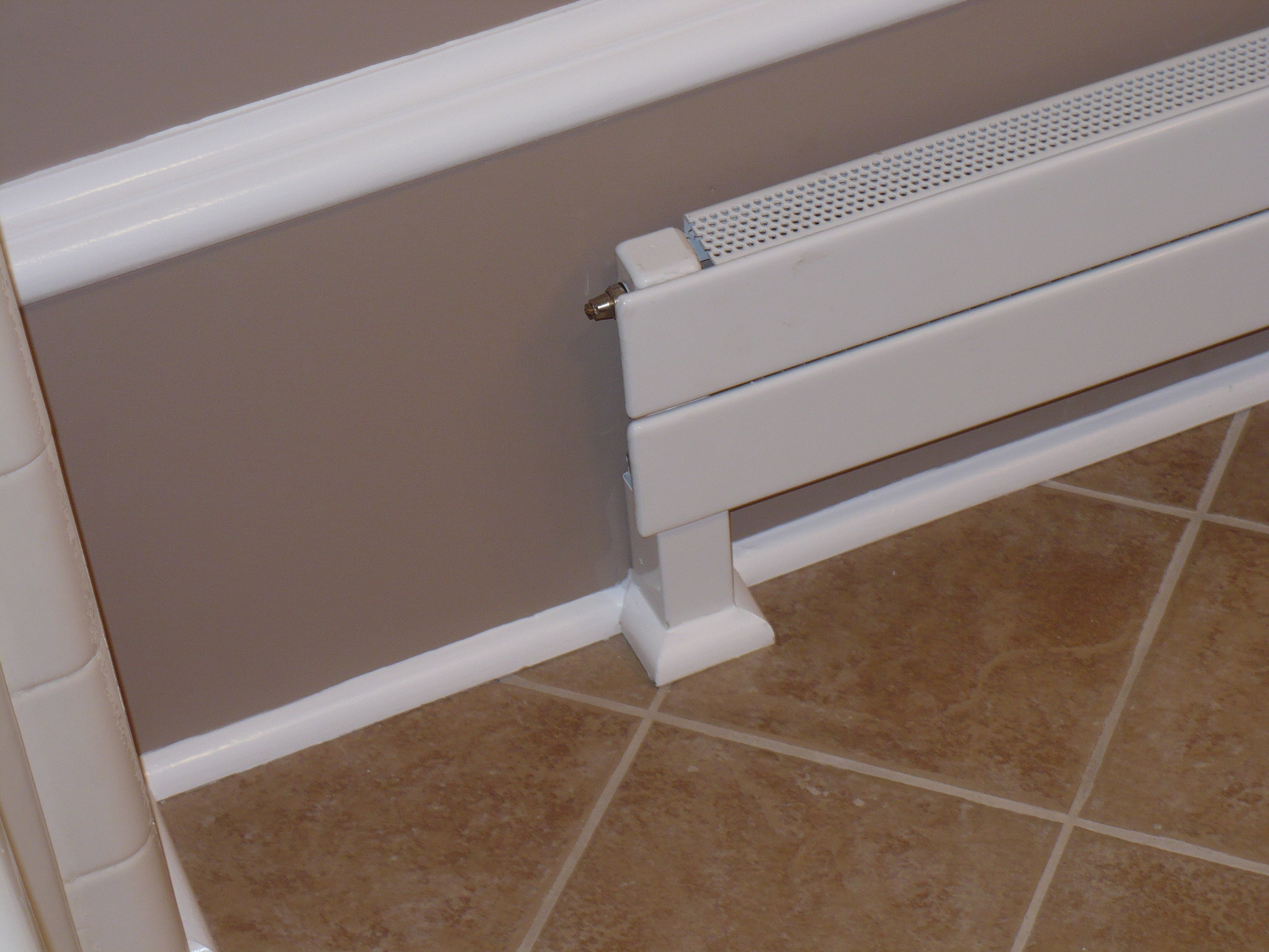 Barthoom Tile Runtal Heater Trim Reed S Woods Inc